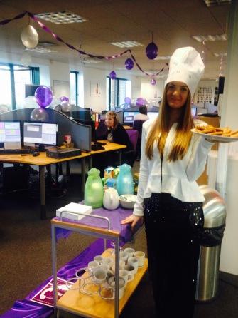 NTD@ComXoLtd_Sophie_serving_tea_to_switchboard_staff