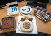 Bake off entries at ComXo
