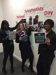 telephone day 8